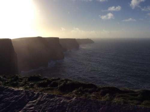 Sun Cliff's of Mohr Ireland cliffs