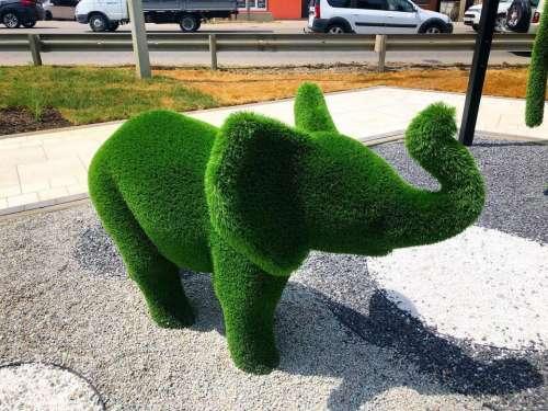 sculpture elephant animals