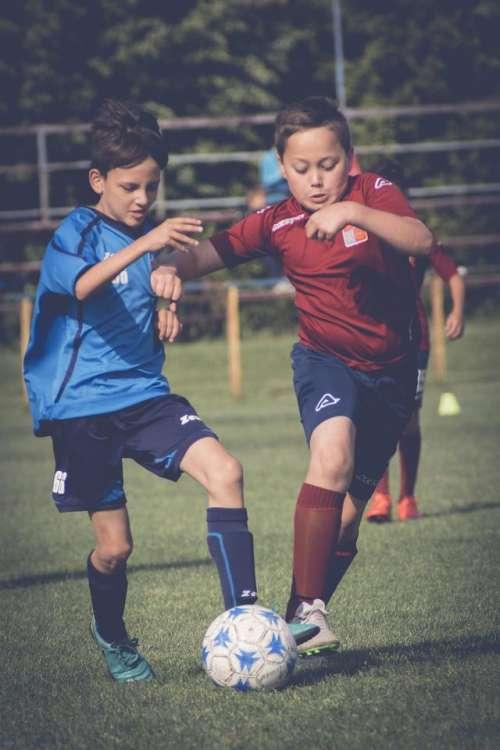 sport football kids soccer kick
