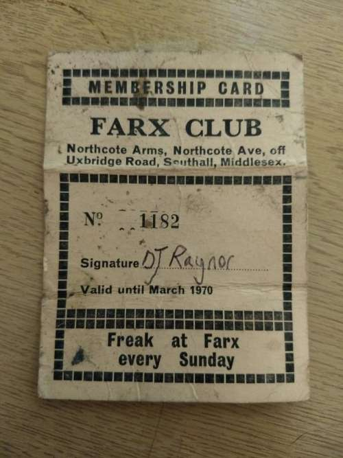 farx club music club collectibles membership