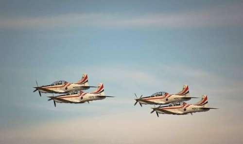Airplane airplanes air show