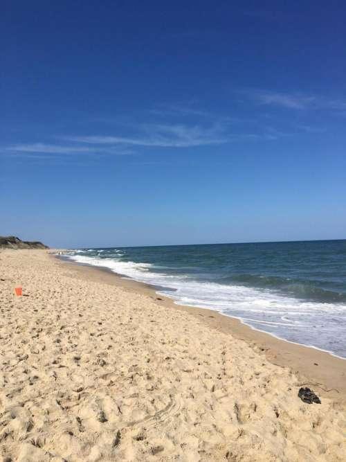 Beach seashore ocean