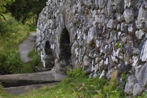 Quiet Man Bridge Oughterard Galway Stone Bridge Stone
