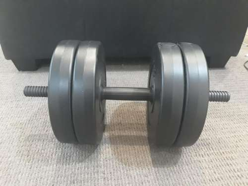 Dumbbell weight fitness exercise