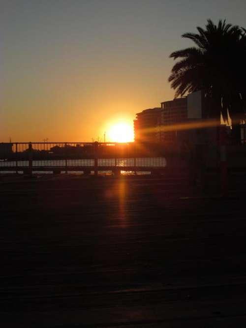 Sky Sun Sunrise Horizon Sunset