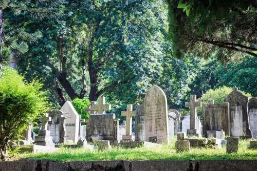 cemetery Hong_Kong death graves headstones