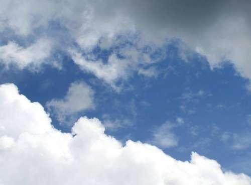 sky white blue light blue dark blue