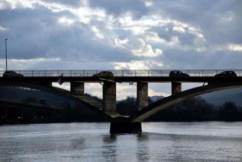 Bridge waterway road water spring
