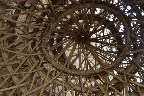 wicker weaving rattan pattern
