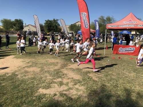 marathon running runners kids running children
