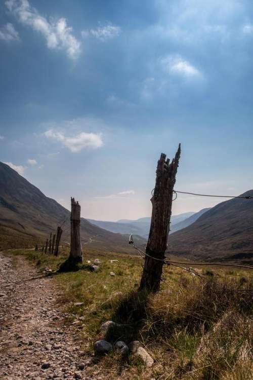 Scotland west highland scottish valley