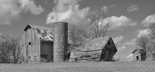 Silo farm rural country rustic