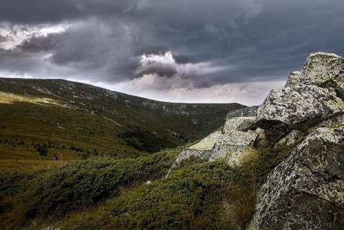 mountain rocks nature
