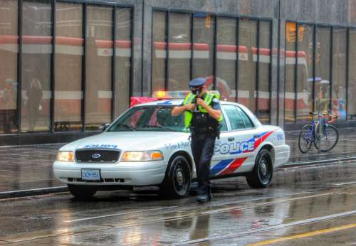 police polizei law enforcement toronto canada