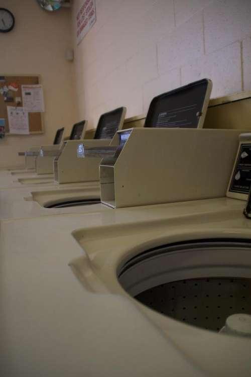 Laundromat Washer Machine Laundry Washing Machine