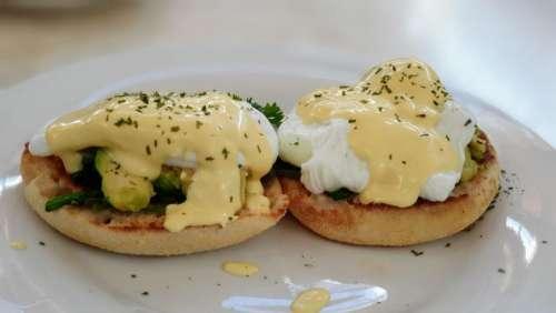 eggs benedict eggs lunch food breakfast