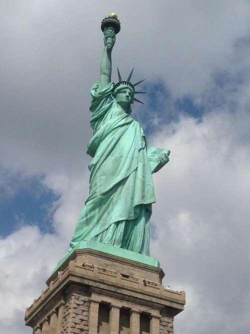 Statue of liberty America USA statue