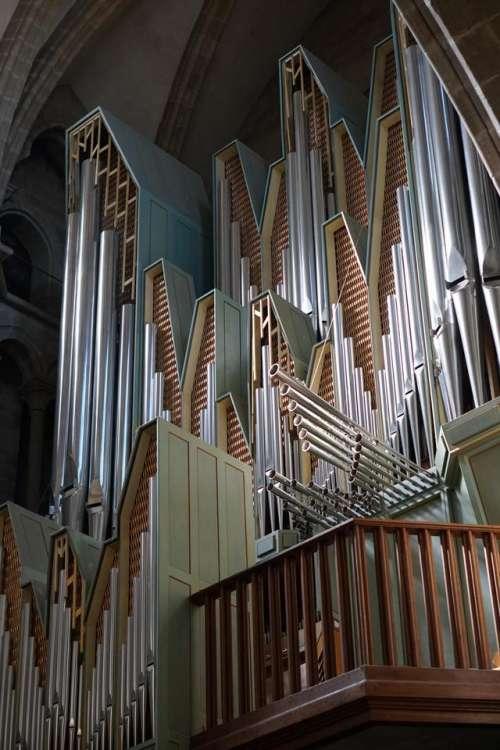 Organ music pipe organ church