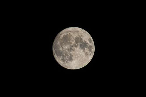 supermoon sky astronomy moon night