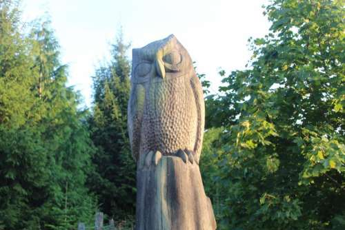 owl woodworks wood wooden owl art