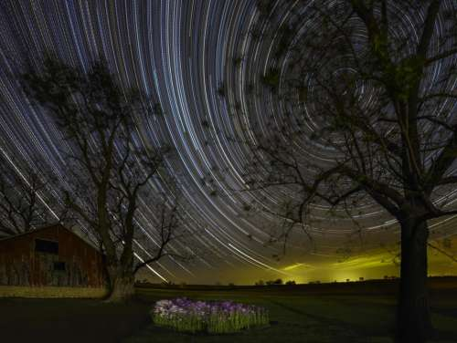 Time lapse universe astronomical astronomy stars
