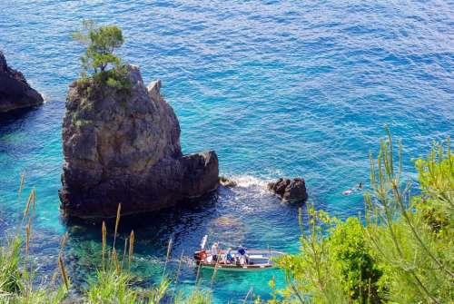 sea island boad sun water