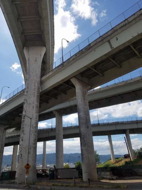 Portland Oregon Oregon city highway freeway