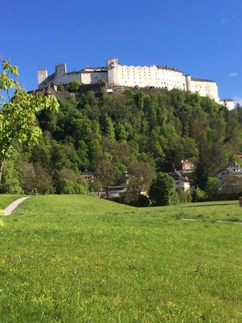 Fortification fort castle Europe Austria