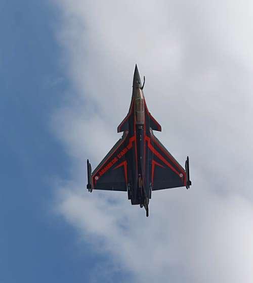 Aircraft Burst Military Sky Air Jet France Army