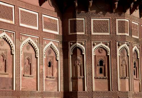 Amber Fort Architecture India Asia Jaipur Travel