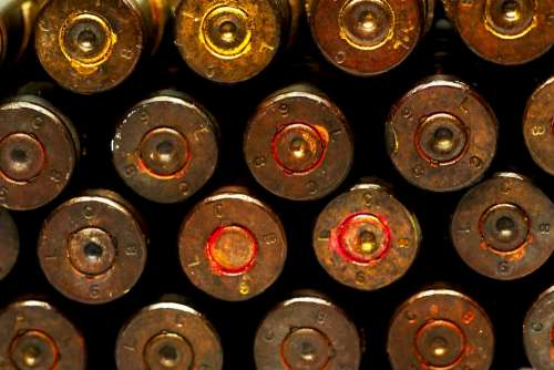 Ammo Bullet Ammunition Caliber Shell Firearms