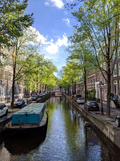 Amsterdam Canal Netherlands Holland Water City
