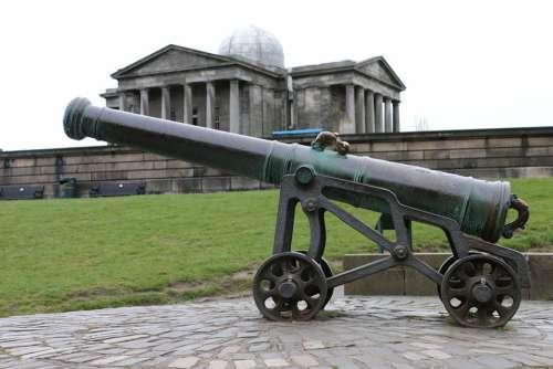 Ancient Antique Armory Artillery Battle Cannon