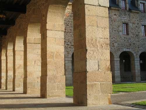 Architecture Pierre Building Convent Cloister