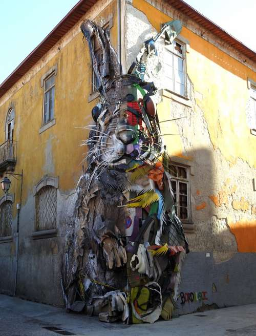 Art Recycling Sculpture Street Art
