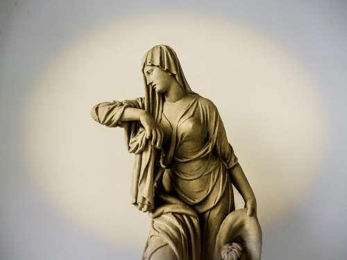 Augsburg Schaezlerpalais Statue Figure Sculpture