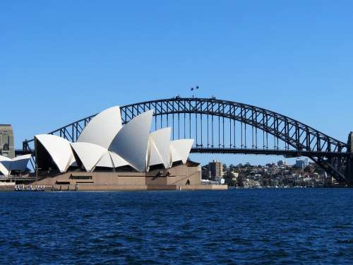 Australia Aussie Opera House Harbour Bridge