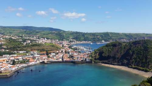 Azores Horta Sea Beach Faial Bay