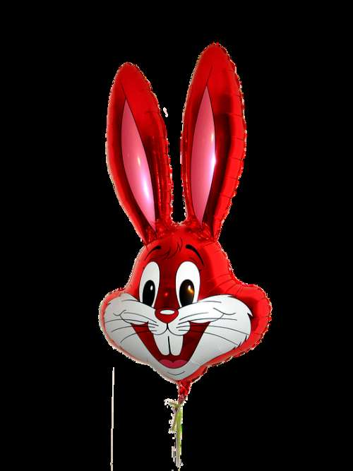 Balloon Rabbit Red