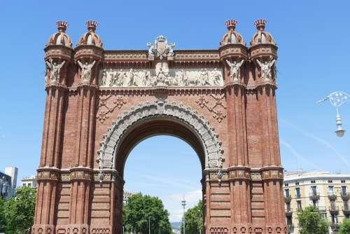 Barcelona Spain Catalonia Architecture