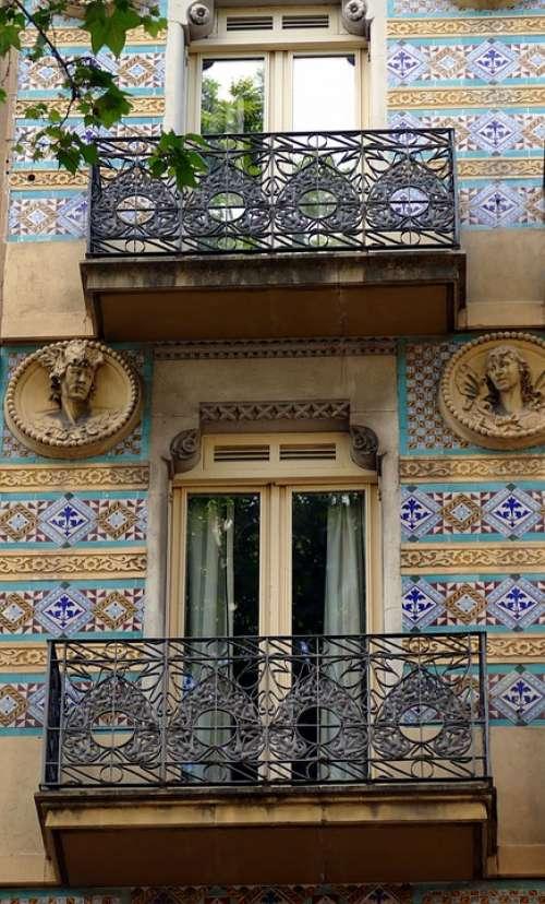 Barcelona Spain Architecture City Catalonia