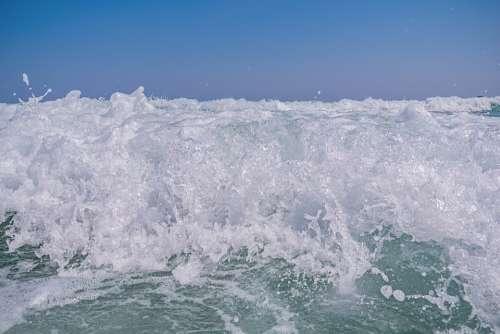 Beach Beauty Blue Coast Destination Foam Harmony