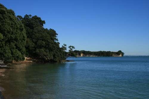 Beach Water New Zealand Sea Coast