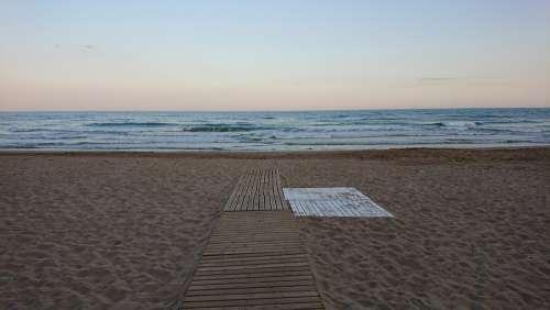 Beach Infinity Travel Meditation Sitges Catalonia