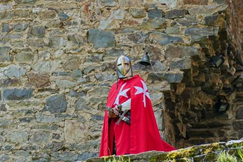 Belgium Ardennes Castle Knight History Old