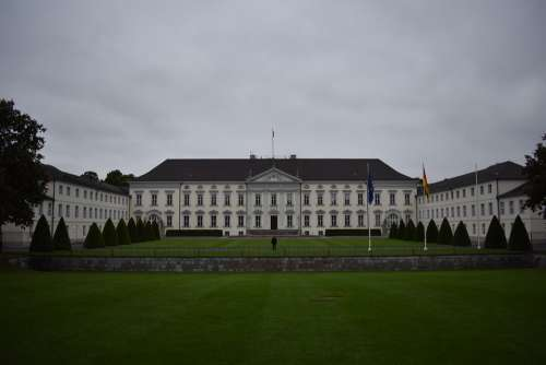 Berlin Castle Bellevue White Castle Bellevue