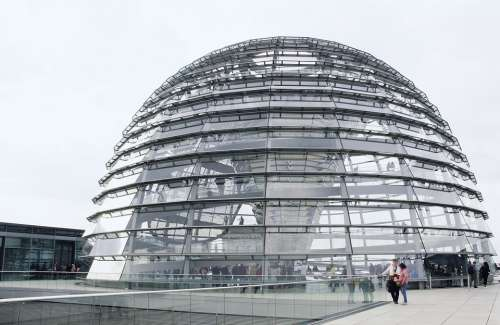 Berlin Bundestag Dome Germany Building