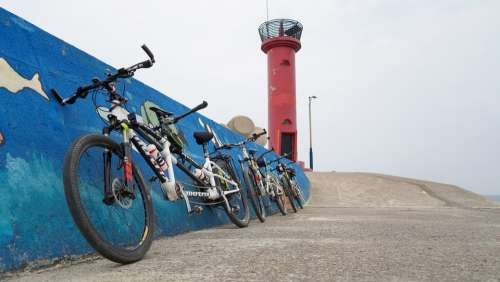Bike Lighthouse Holiday Coast Tandem Bike 2 Bike