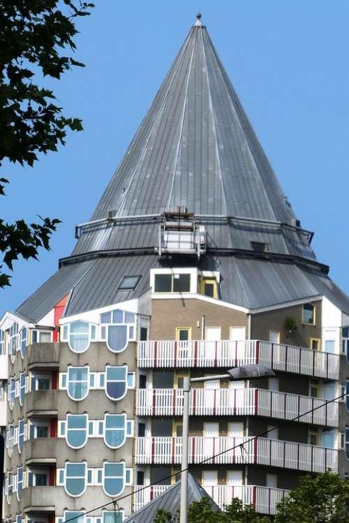 Blaaktoren It'S A Pencil Rotterdam Blaak Homes