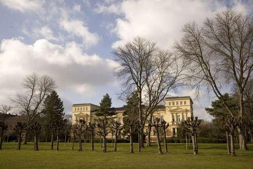 Bonn Castle Winter